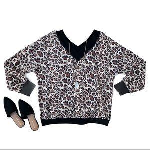 Main Strip • Leopard Print Sweater